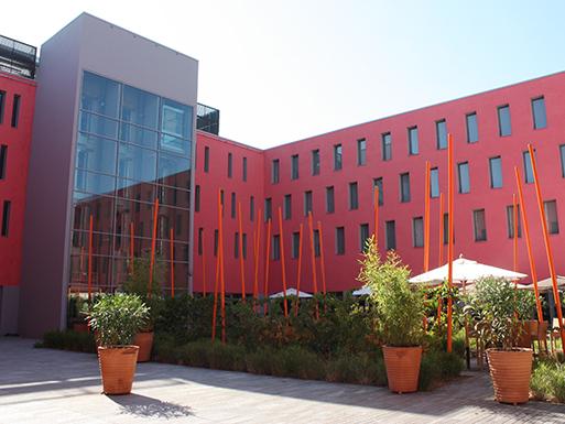 Construction de l'Hôtel 4* Radisson Blu Hôtel Toulouse Airport