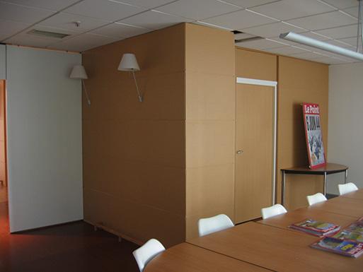 Rénovation du hall principal et des services du journal, Paris 14ème