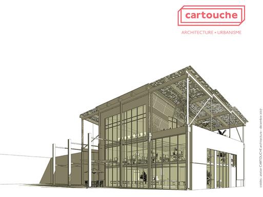 Bureaux St Herblain Perspective Cartouche